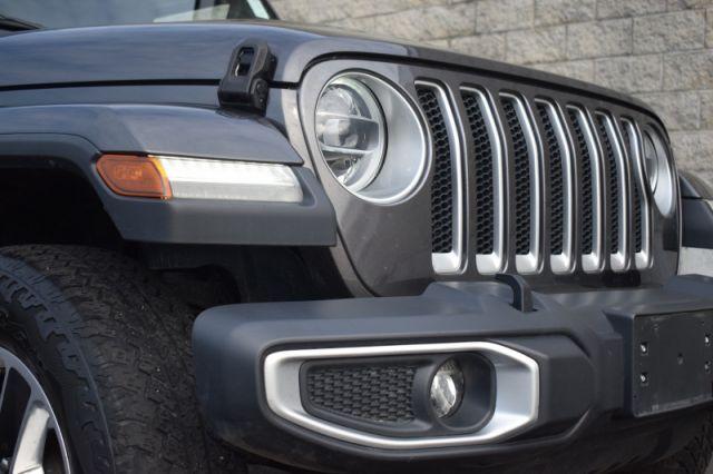 2018 Jeep Wrangler Unlimited Sahara    ALPINE SPEAKERS   LEATHER   DUAL CLIMATE  