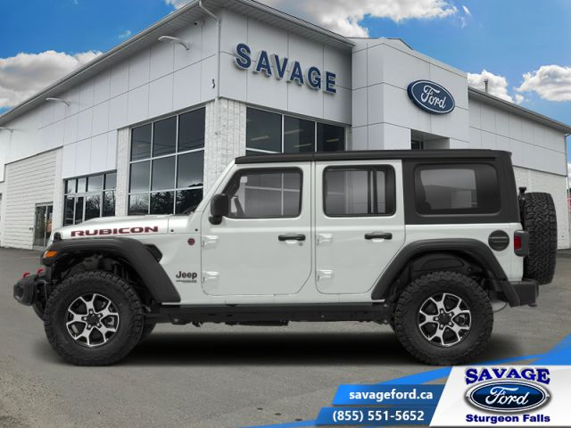 2018 Jeep Wrangler Unlimited Rubicon  -  UConnect 4 - $375 B/W
