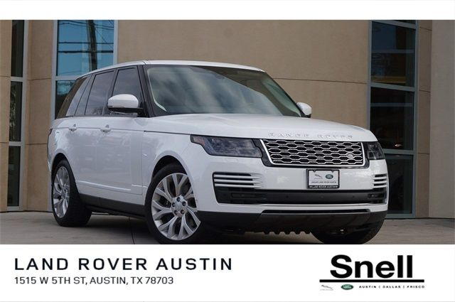 Range Rover Austin >> Certified Pre Owned 2018 Range Rover Details
