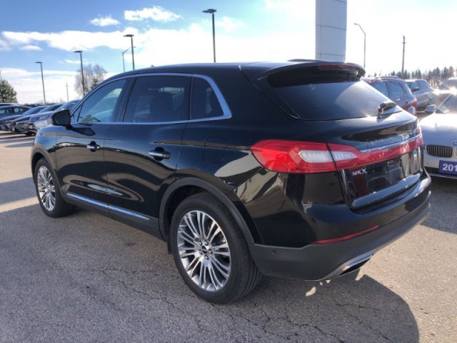 2018 Lincoln MKX Reserve AWD  Technology Package- Driver Assist Package-  Sunroof