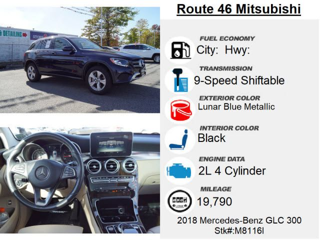 2018 Mercedes-Benz GLC 300 GLC 300 4MATIC
