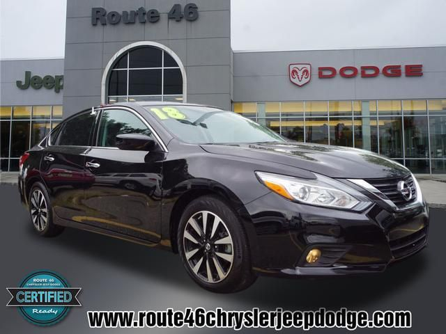 Rt 46 Jeep >> Used 2018 Nissan Altima 2 5 Sv Near Little Falls Route 46 Cdjr