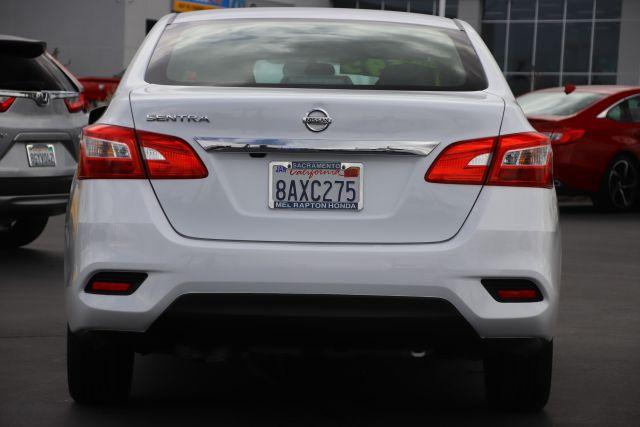 2018 Nissan Sentra S Sedan