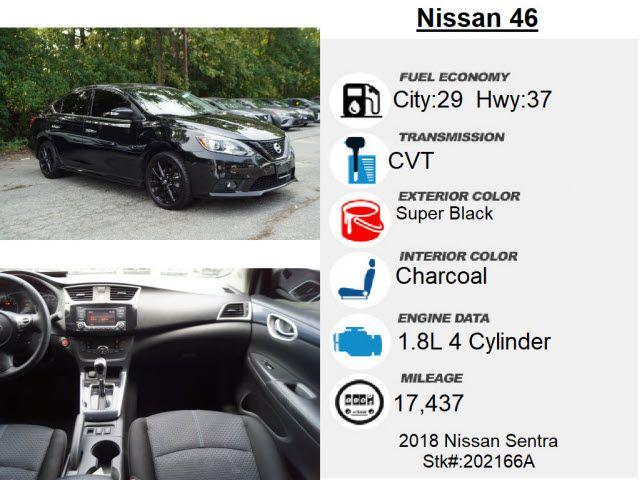 2018 Nissan Sentra SR