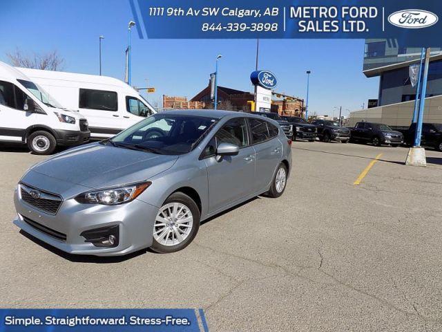 2018 Subaru Impreza 5-dr Touring AT  - $165 B/W