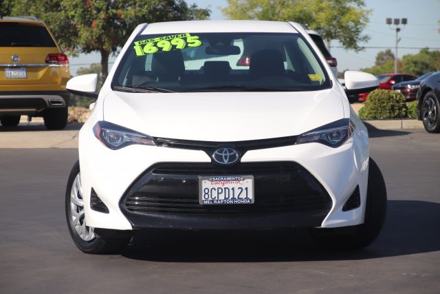 2018 Toyota COROLLA Sedan LE
