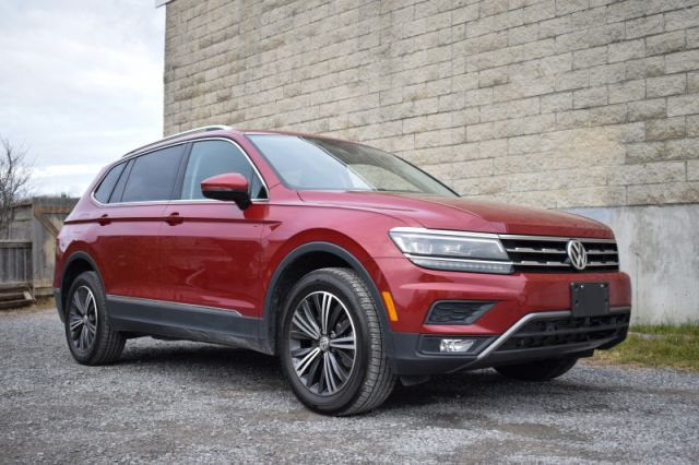 2018 Volkswagen Tiguan Highline 4MOTION  | AWD | LEATHER | MOONROOF