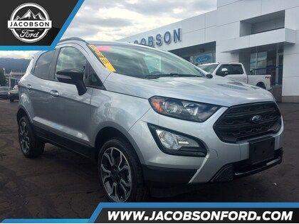 2019 Ford EcoSport SES Moondust Silver, 2 0L Ti-VCT GDI I-4