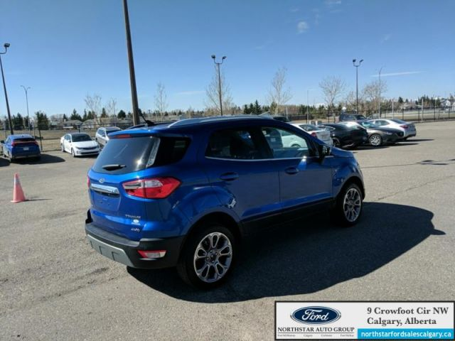 2019 Ford EcoSport Titanium 4WD  |LEATHER| NAV| SUNROOF| AWD|