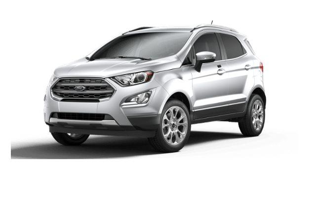 2019 Ford Ecosport Titanium Moondust Silver 20l Ti Vct Gdi