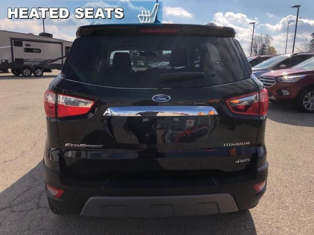 2019 Ford EcoSport Titanium 4WD   CPO Vehicle, 2.9% Financing up to 36 months OAC,