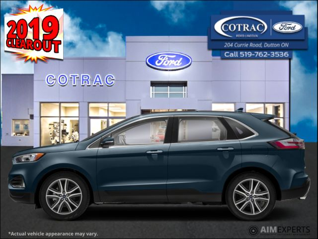 2019 Ford Edge SEL AWD  - Activex Seats -  Heated Seats - $232 B/W