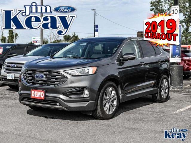 2019 Ford Edge Titanium AWD  Demo - Heated Seats -  Power Tailgate