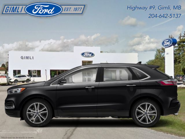 2019 Ford Edge Titanium AWD  - Low Mileage