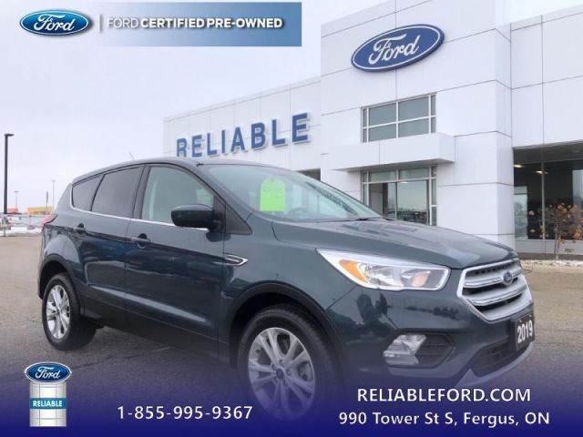 2019 Ford Escape SE 4WD   CPO Vehicle, 1.9% Financing up to 72 months OAC-- Heate