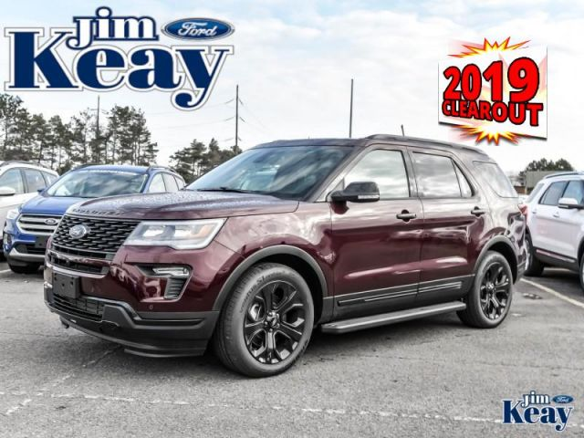 2019 Ford Explorer Sport  Demo- Navigation -  Leather Seats