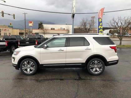 2019 Ford Explorer Platinum