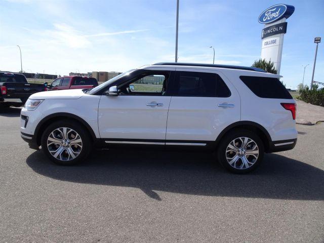 2019 Ford Explorer Platinum White Platinum, 3 5L EcoBoost
