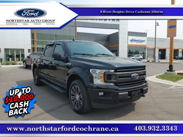 2019 Ford F-150 XLT  SPORT 4X4 WITH ECOBOOST V6!