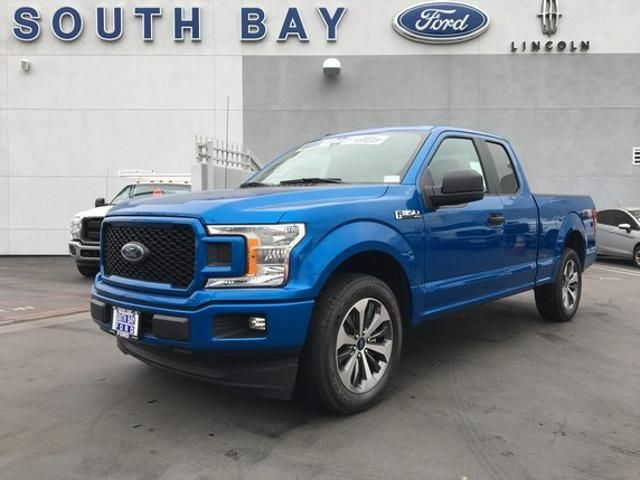 2019 Ford F 150 Xl 2wd Supercab 6 5 Box Velocity Blue Metallic V6