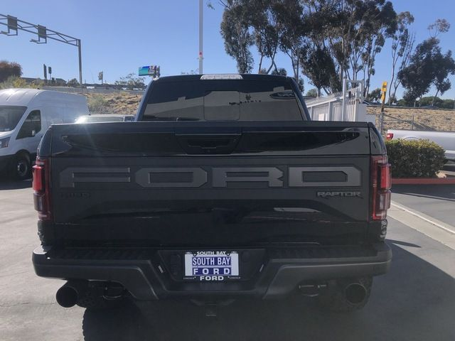 2019 Ford F-150 Raptor 4WD SuperCrew 5.5 Box