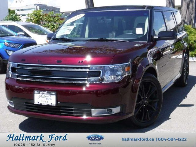 2019 Ford Flex SEL Red, 3 5L V6 | Hallmark Ford Sales