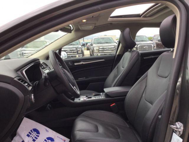 2019 Ford Fusion Hybrid Titanium  - Leather Seats