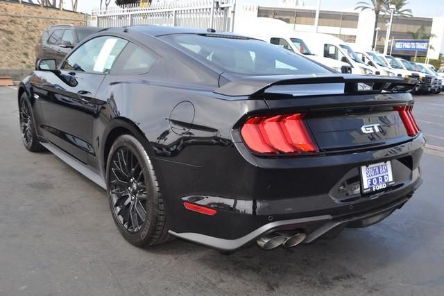 2019 Ford Mustang GT Premium Fastback Shadow Black, 8 Cylinder Engine   South Bay Ford