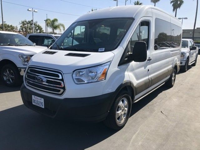 2019 Ford Transit Passenger T-350 148 Med Roof XLT Sliding RH