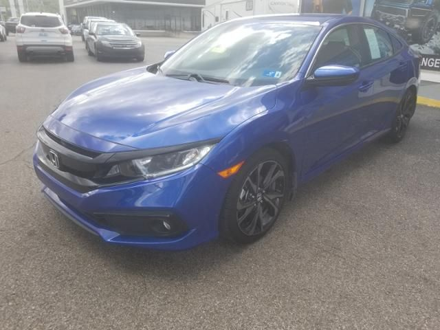 2019 Honda Civic Sport CVT