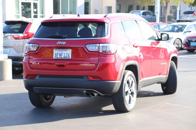 2019 Jeep COMPASS Sport Utility Limited