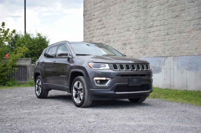 2019 Jeep Compass Limited  - Navigation -  Leather Seats - $199 B/W