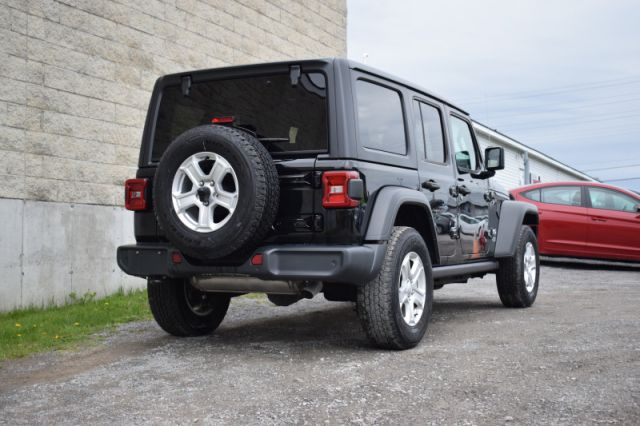 2019 Jeep Wrangler Unlimited Sport  | 4X4 | HEATED SEATS & WHEEL |