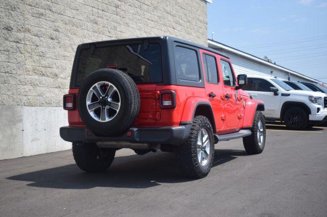 2019 Jeep Wrangler Unlimited Sahara  - Uconnect