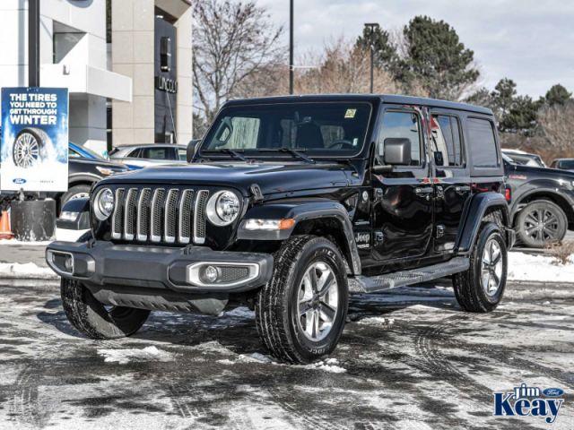 2019 Jeep Wrangler Unlimited Sahara  -  Android Auto