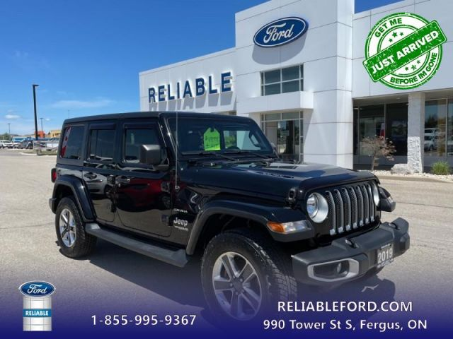 2019 Jeep Wrangler Unlimited Sahara   Includes Mopar Complete warranty for 7 year or 160,000