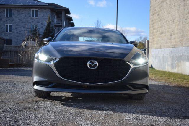 2019 Mazda Mazda3 GT Auto FWD  HEATED SEATS & WHEEL | LEATHER | NAV | DUAL CLIMATE