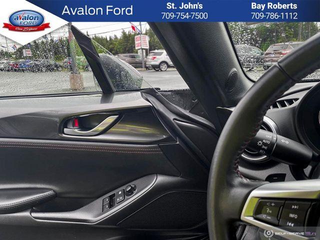 2019 Mazda MX-5 RF GT at Black Leather