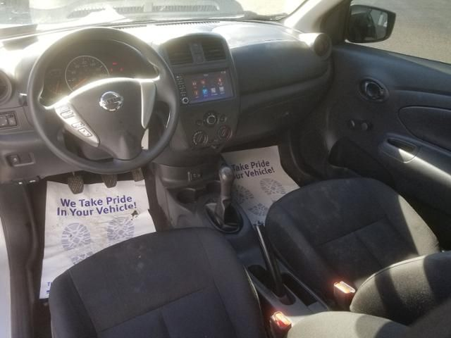 2019 Nissan Versa S Manual