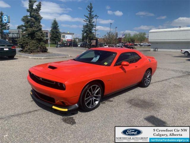 2020 Dodge Challenger R/T  |R/T| MAUNAL| NAV| SPORTS CAR| HEMI| - $315 B/W