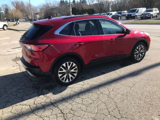 2020 Ford Escape Titanium Hybrid 4WD  - Leather Seats - $219 B/W