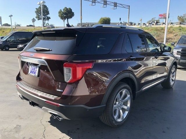 new 2020 ford explorer platinum 4wd for sale near