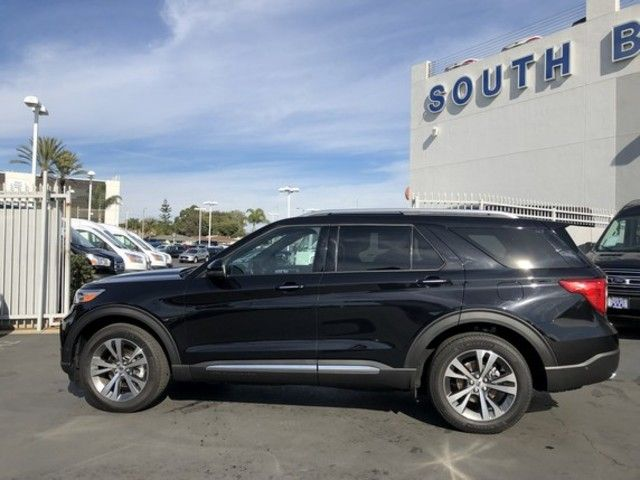 used 2020 ford explorer platinum 4wd for sale near