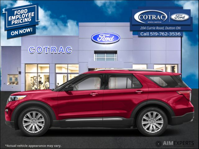 2020 Ford Explorer Limited  - Leather Seats - Sunroof - $331 B/W