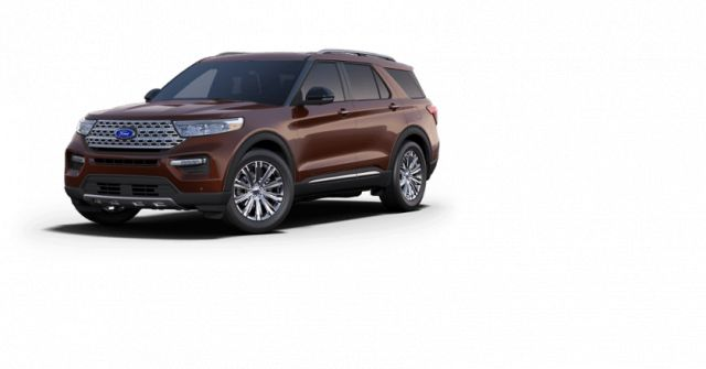 2020 Ford Explorer Limited Rich Copper 2 3l I 4 Ecoboost Engine With Auto Start Stop Technology Northland Ford Sales