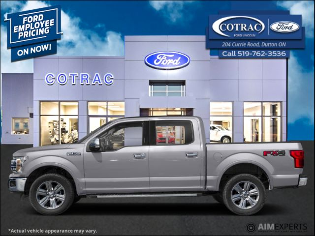 2020 Ford F-150 Lariat  - Navigation - Leather Seats - $425 B/W