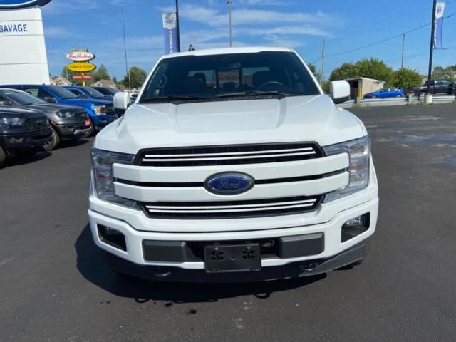 2020 Ford F-150 LARIAT-ONE OWNER-LOCAL-TRADE-IN-416 B/W