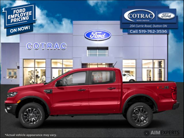 2020 Ford Ranger XLT  - $252 B/W
