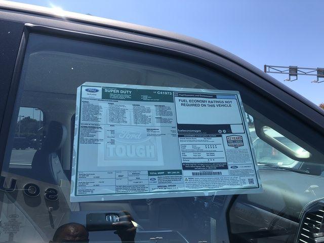 2020 Ford Super Duty F-250 SRW Limited 4WD Crew Cab 6.75 Box