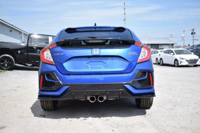 2020 Honda Civic Hatchback SPORT    SPORT PADDLE SHIFTERS  
